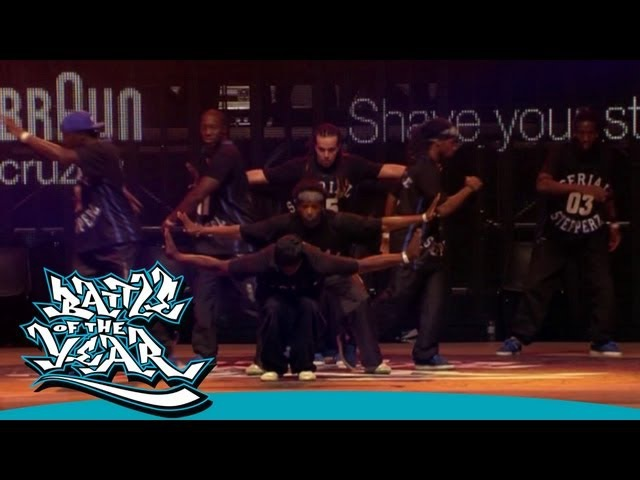 BOTY 2011 - SHOWCASE - SERIAL STEPPERZ (FRANCE) [OFFICIAL HD VERSION BOTY TV]