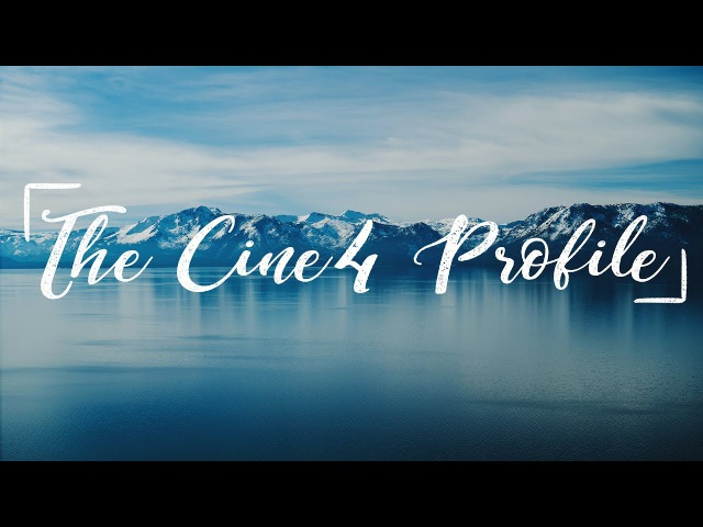 The BEST Sony picture profile for VIDEO. (Cine4 Settings)