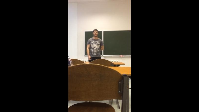 Видео от Дениса Сопина