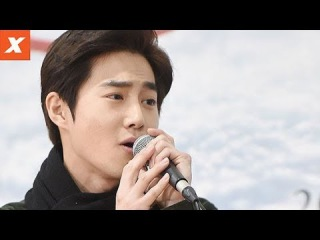 """VIDEO 171208 Suho @ """"The Last Kiss"""" Public Repetition"""