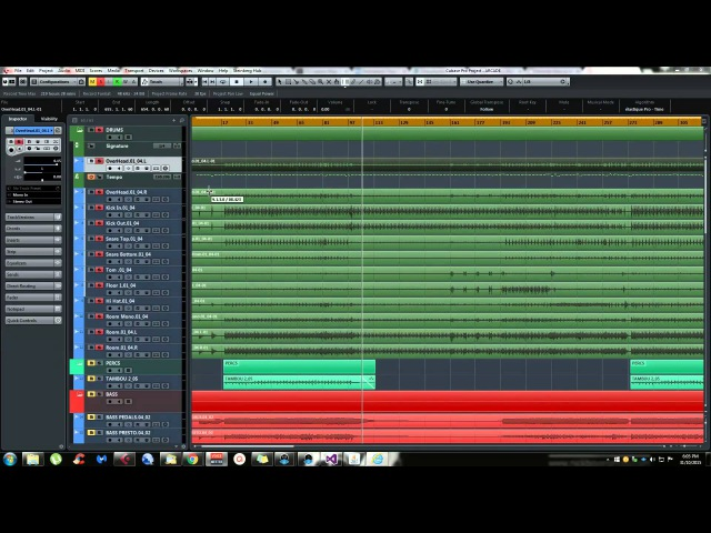 Cubase 8 Tips and Tricks - Quantize drums recorded without click or specific tempo