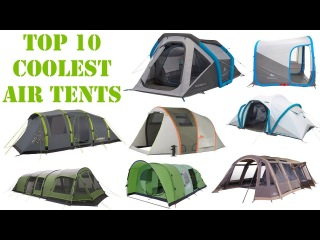 Top 10 Coolest Camping Air Tents You Must See | Best Inflatable Tent Innovations |