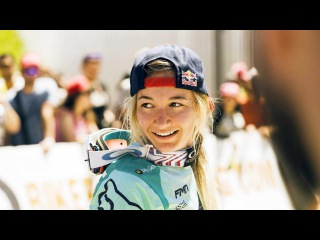 Mad Downhill skills from Tahnee Seagrave   Winning Ride from UCI MTB World Cup Canada 2017