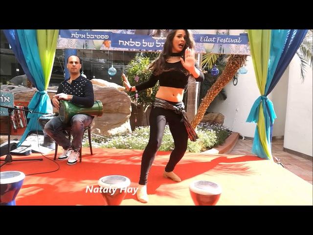 Boshret Kheir - Belly Dance Nataly Hay dança do ventre baile ריקודי בטן נטלי חי רקדנית בטן