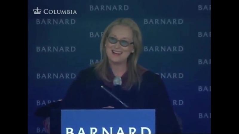HQ версия Meryl Streep's Commencement Speech at Barnard College 2010