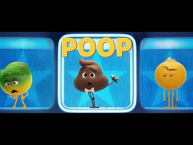 ENG Тизер мультфильма Эмоджи фильм The Emoji Movie Meet Poop 2017
