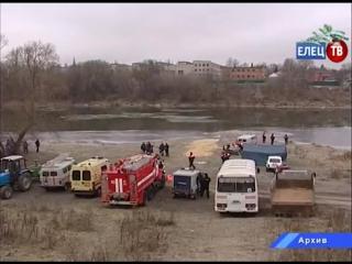В Ельце с 18 по 20 января введен режим повышенной готовности для всех спасательных служб в период Крещенских праздников