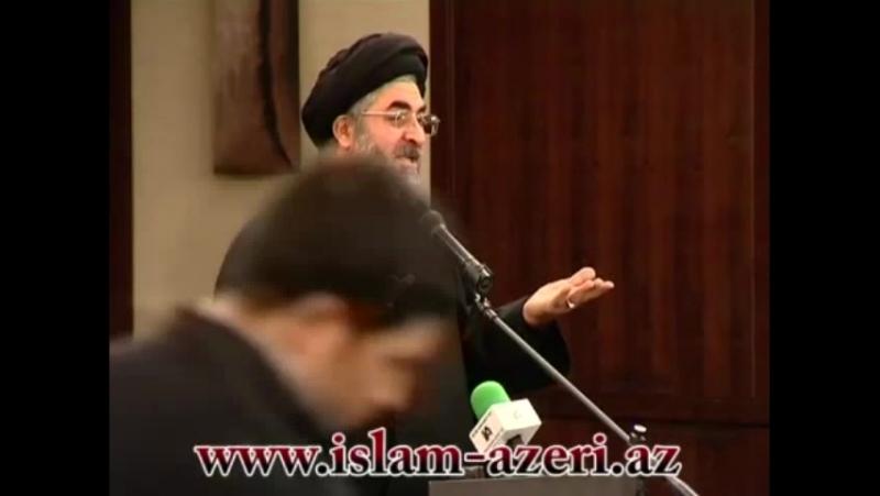 Mubariz Ibrahimov Official Ocaq Necat aga Imam Baqir e s buyurub Azerbaycan İslamın ayrilmaz hissesidir