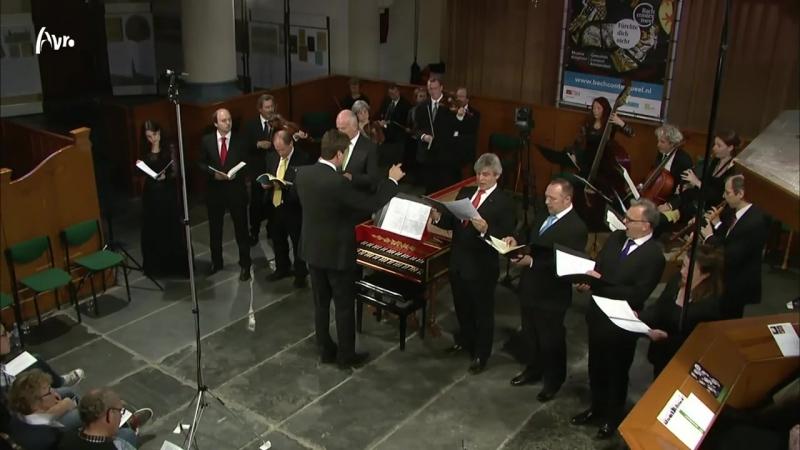 228 J S Bach Fürchte dich nicht BWV 228 Musica Amphion Gesualdo Consort Amsterdam Pieter Jan Belder