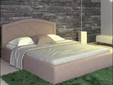 Купить красивую двухспальную кровать Виго с подъёмным механизмом и красивым дизайном
