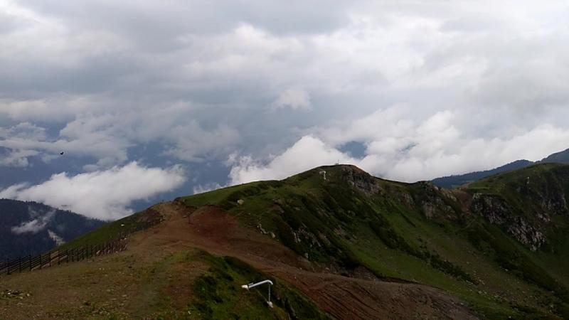 Роза Пик 2320 метров над уровнем моря Видео 1