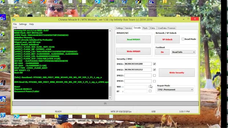HOW TO CM2 DA FILE Huawei Y5II CUN U29 MTK6582 IME REPERE READ FLASH BY SOHEL TELECOM