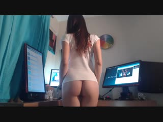 Ts ivy trans girl webcam solo home (shemale, tgirl, tranny, sissy, femboy)