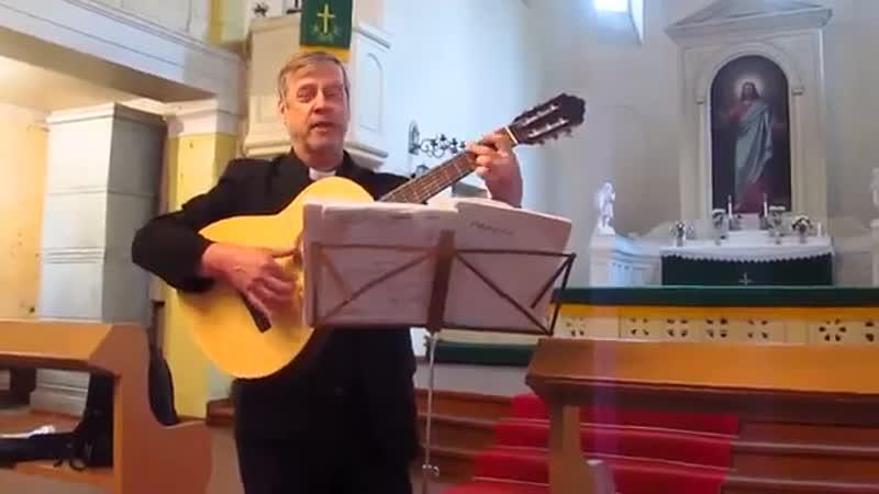Духовная песня в исполнении Арво Сурво