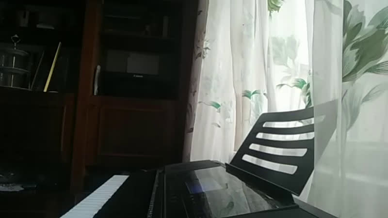 Gonne Fludd ~Ky6uk льда Piano Cover