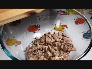 ВСЕГО_4_ИНГРЕДИЕНТА, но какой вкусный салат!