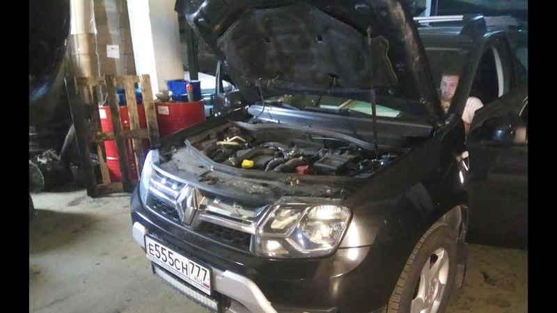 Чип тюнинг Renault Duster 1 5DCi от ADACT Результаты первой поездки