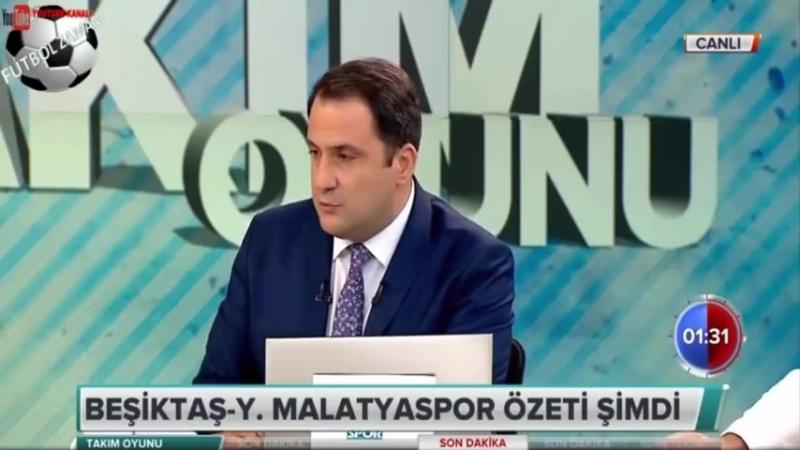 Takım Oyunu 15 Eylül 2018 Beşiktaş 2-1 Malatyaspor Maçı ve GS, FB Yorumları