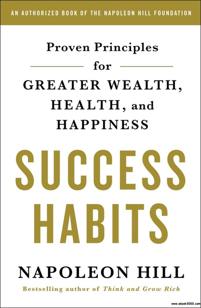 Book cover Success Habits Proven Principles for Greater Wealth, Health, and Happiness