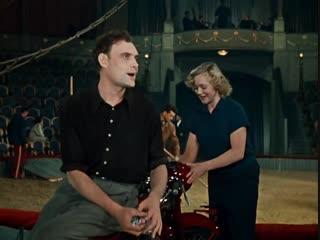 Песня Сегодня девчонка сказала - из кф Укротительница тигров, 1954 год.