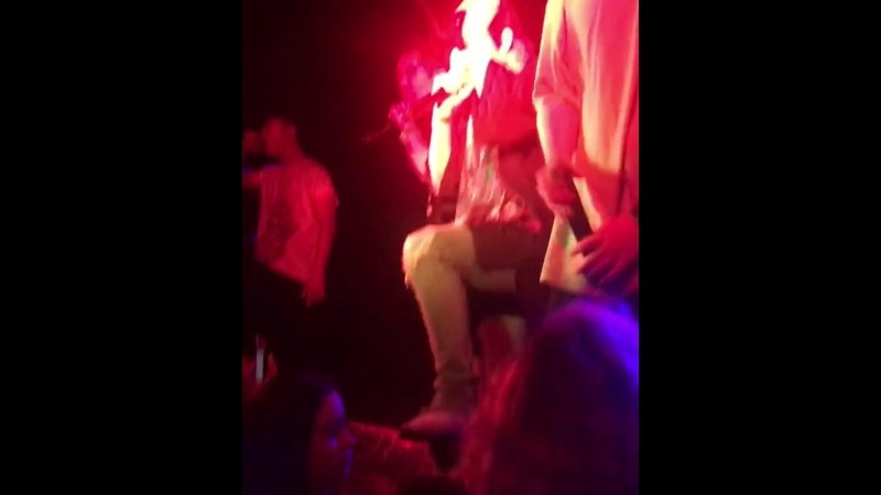 Fancam cut 180416 Rockbottom Kidoh 2018 Live in Europe in London cr @thepgwayoflife ig