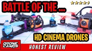 BATTLE of the CINEMA DRONES - Skystars Baby Turtle VS iFLight iH3 - Honest Review