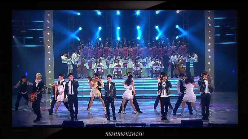 (101230) B2ST, 2PM, 2AM and Shinee with song 'It's my life' 'Bohemian Rhapsody'