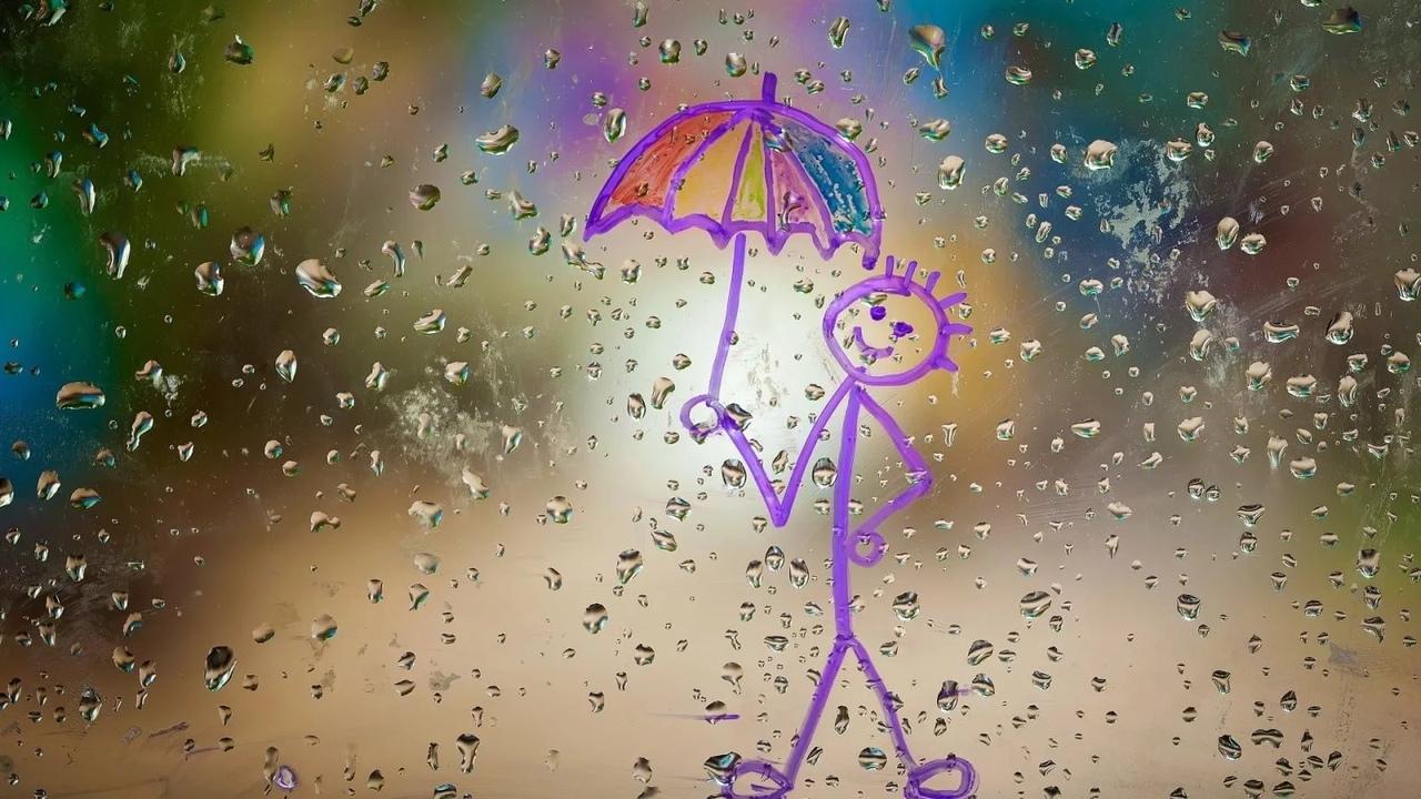 картинки с праздником день прогулок под дождем электрические