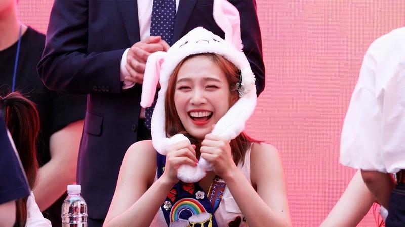 180818 레드벨벳 조이의 토끼모자 Red Velvet Joy's Rabbit Hat 스타필드고양팬사인회 4K 직캠 by 비몽