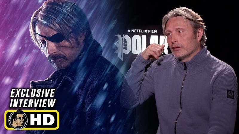Mads Mikkelsen and Jonas Akerlund Exclusive Interview for Netflix's Polar