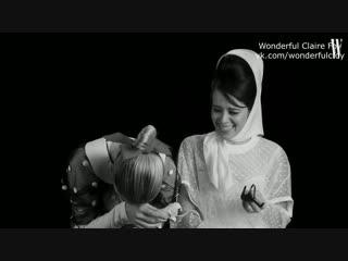 Эмили Блант и Клэр Фой / Русские субтитры / Интервью для W