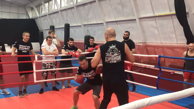 Спарринг по боксу с Никитой Лушниковым