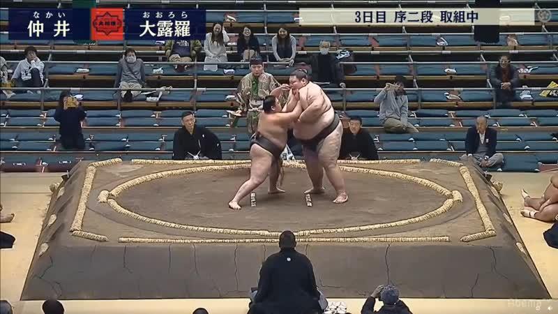 Nakai vs Orora - Haru 2018, Jonidan - Day 3