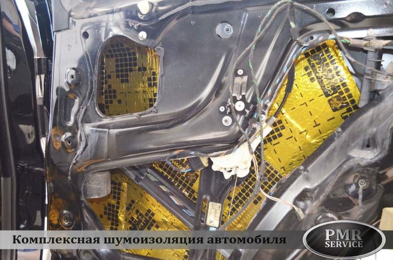 Шумоизоляция BMW X5, изображение №14