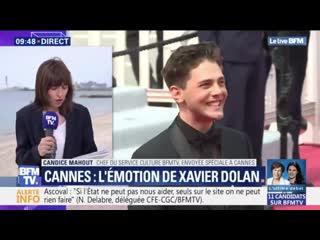 """Xavier dolan à cannes: """"j'aime les gens qui se sentent incompris"""""""