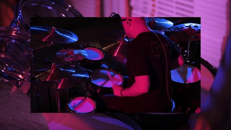 Aquarian drum heads live factory Javo Barrera