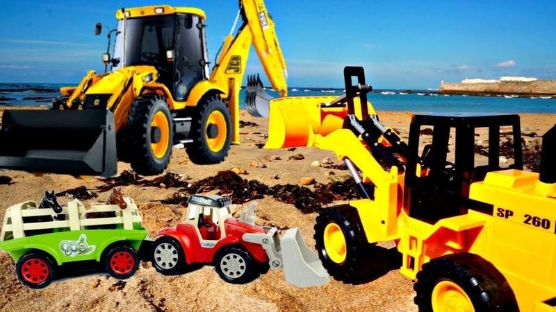 Unsere Spielzeugautos sind sehr fleißig 3 Spielzeug Videos für Kinder
