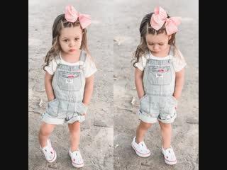 Хочешь, чтобы твоя малышка была такой же стильной!