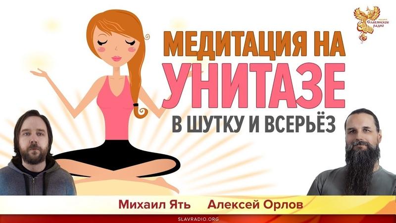 Медитация на унитазе В шутку и всерьёз Алексей Орлов и Михаил Ять