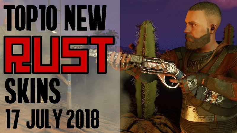 Xtab Skin Pix Weekly Top 10 NEW Rust WORKSHOP Skins 17 July 2018