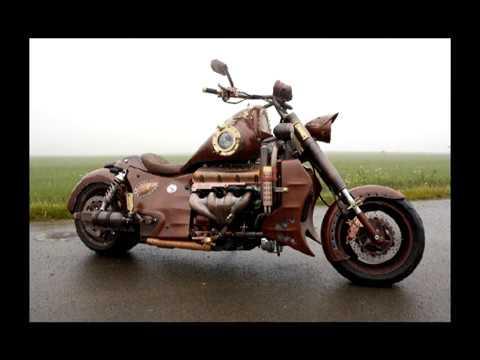 DISEL STEAM PUNK MOTO
