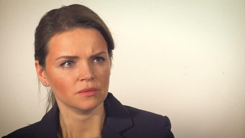 Актриса Анна Славина. Сцена Заказное убийство Кинотренинг Олега Ларина.