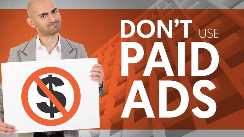 DON'T Use Paid Ads My 1 Organic Marketing Strategy | Neil Patel