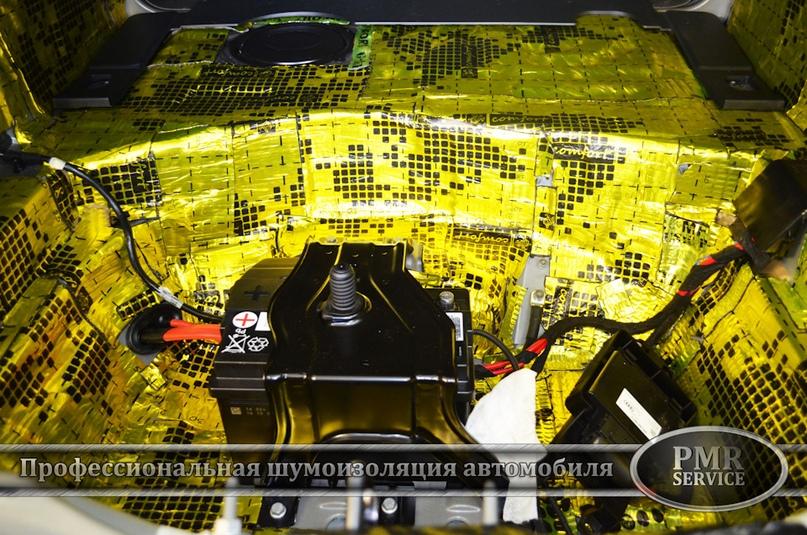 Шумоизоляция Audi A6, изображение №16