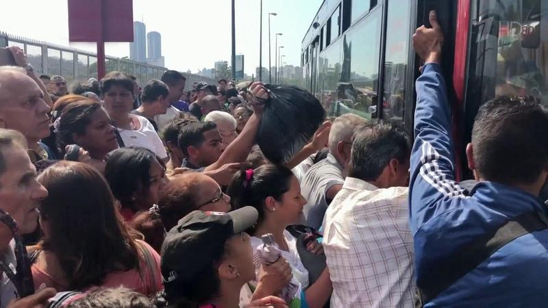 Новая атака наэнергосистему Венесуэлы оставила без света полстраны. Новости. Первый канал