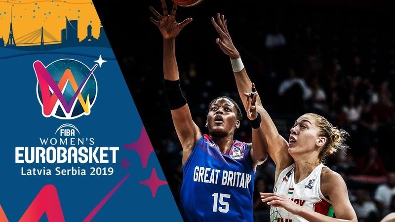 Temi Fagbenle 29 PTS led Team GB to the Semi Finals FIBA Women's EuroBasket 2019