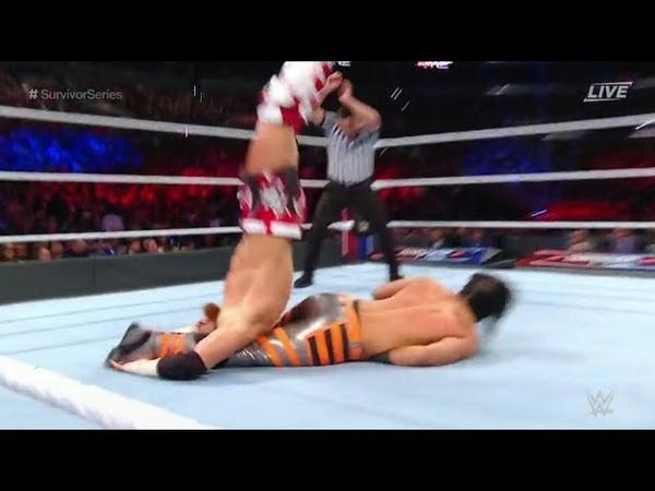 Buddy Murphy vs. Mustafa Ali Cruiserweight Championship WWE Survivor Series 2018