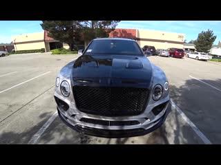 Bentley bentayga от тюнинг-ателье mansory