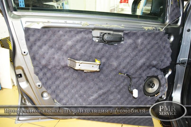 Шумоизоляция Nissan Note, изображение №9
