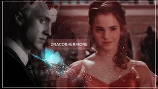 ▪ Draco & Hermione    Я в тебя влюбился [AU]
